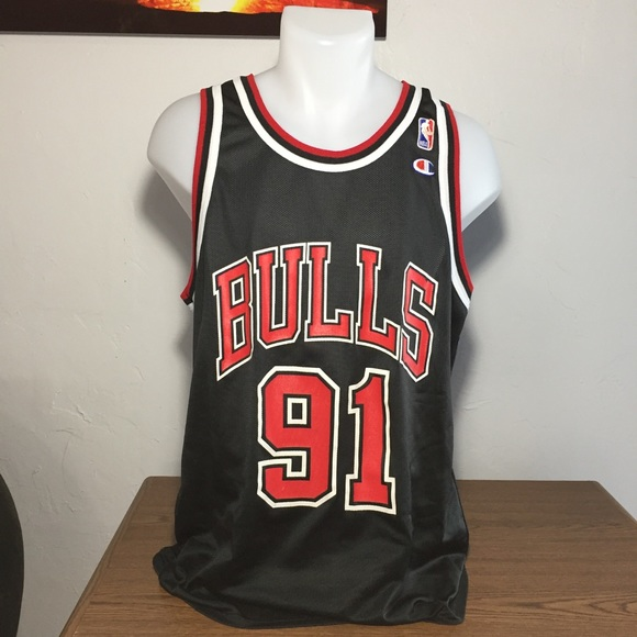 5c392094da1 Champion Other - Men s Champion Chicago Bulls Dennis Rodman Jersey